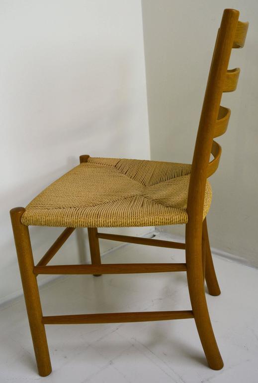 Set of Eight Kaare Klint Dining Chairs for Fritz Hansen, Denmark For Sale 1