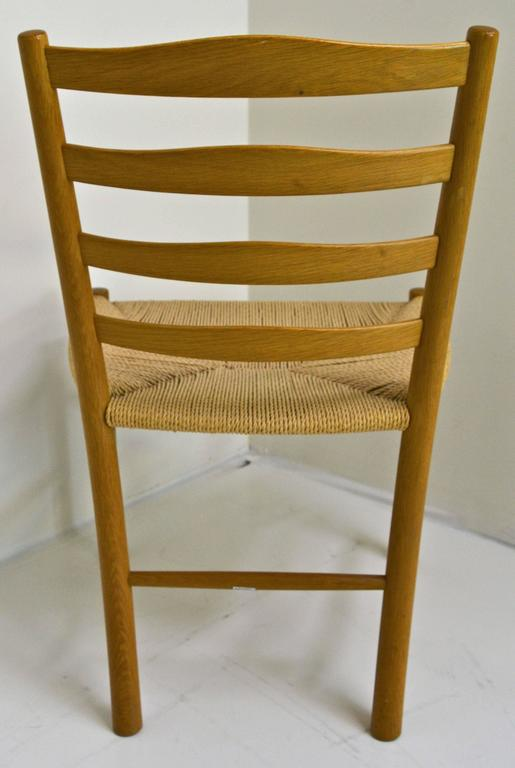 Mid-20th Century Set of Eight Kaare Klint Dining Chairs for Fritz Hansen, Denmark For Sale