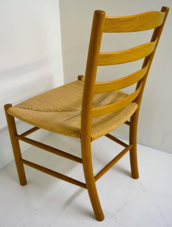 Set of Eight Kaare Klint Dining Chairs for Fritz Hansen, Denmark For Sale 2
