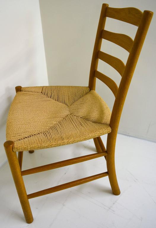 Set of Eight Kaare Klint Dining Chairs for Fritz Hansen, Denmark For Sale 3