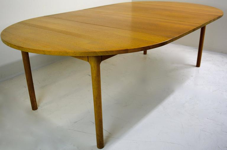 Danish Hans Wegner for Ry Mobler Dining Table For Sale