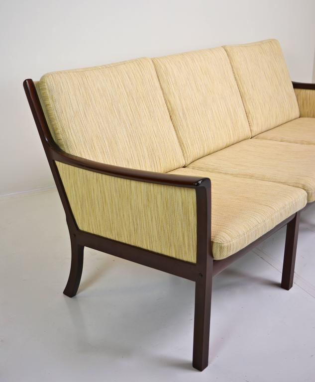 Mid-Century Modern Sofa by Ole Wanscher for Poul Jeppesen For Sale