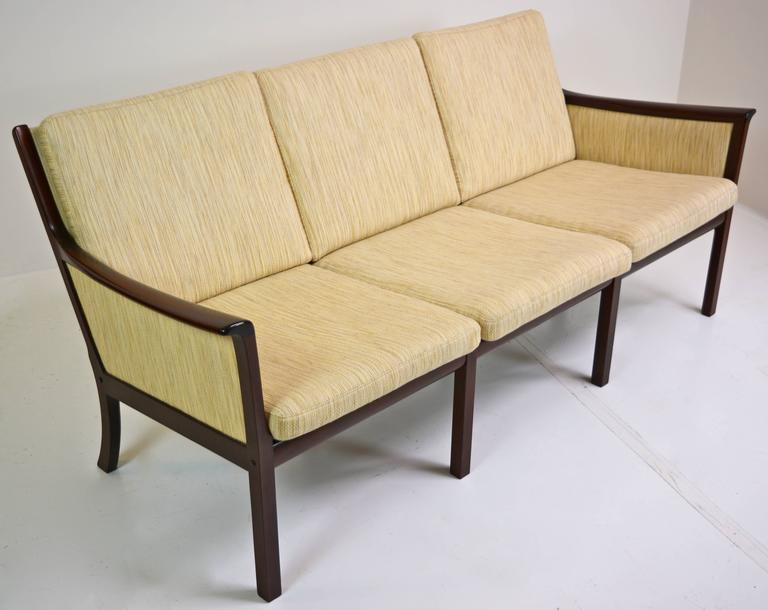 Danish Sofa by Ole Wanscher for Poul Jeppesen For Sale