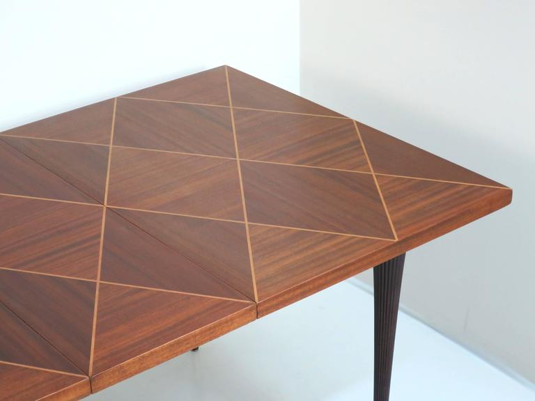 Mid-Century Modern Tommi Parzinger Dining Table For Sale
