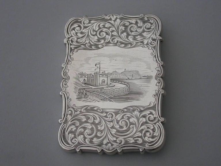 English Victorian Antique Silver