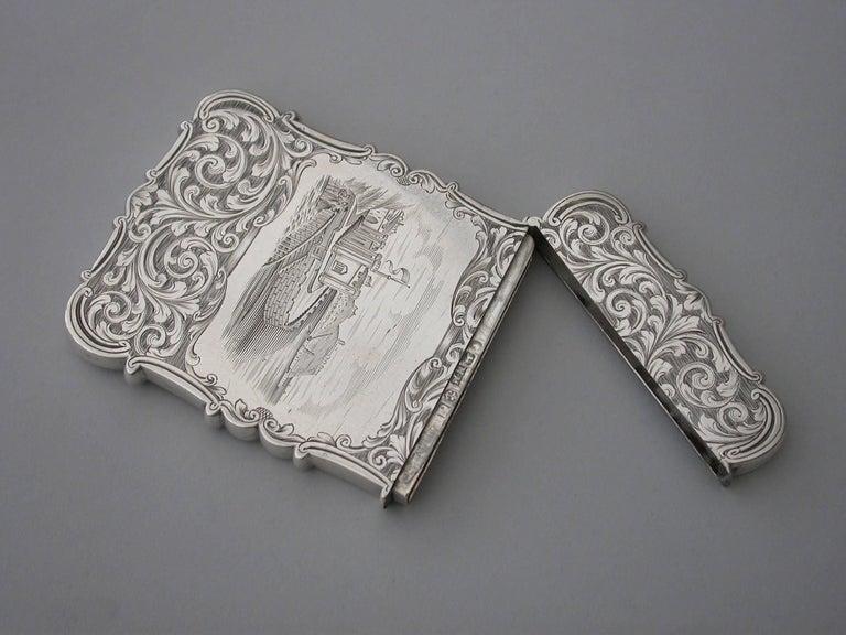 Mid-19th Century Victorian Antique Silver
