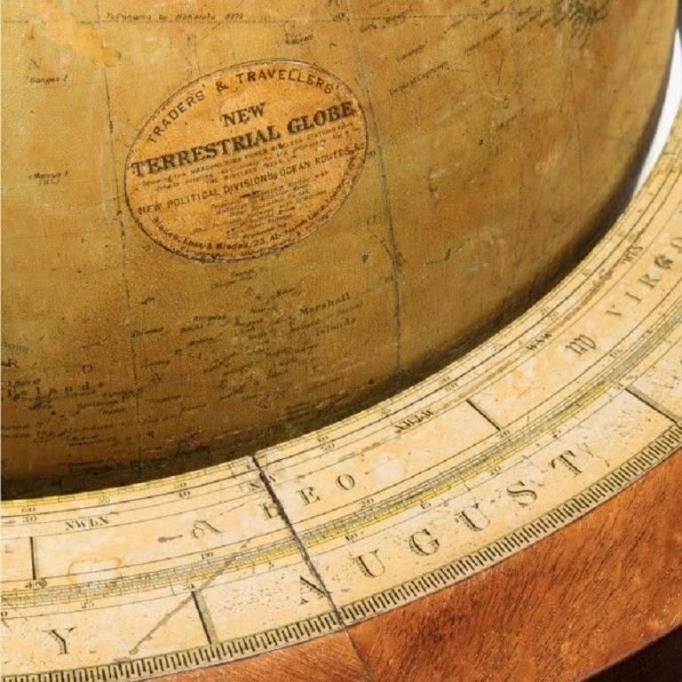Fine Pair of Cary's Floor Standing Library Globes For Sale 1