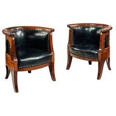 Danish Art Nouveau Armchairs