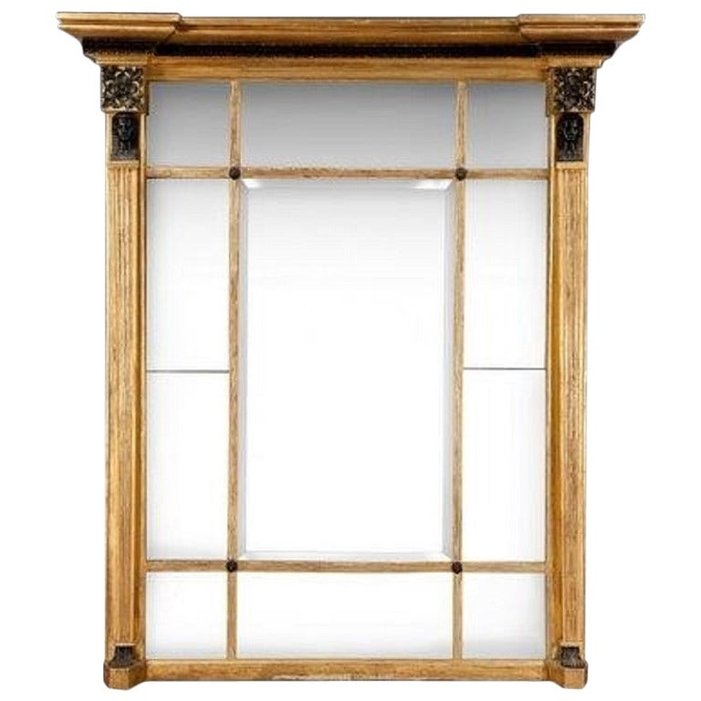 Regency Giltwood Overmantel Mirror with Interesting Provenance