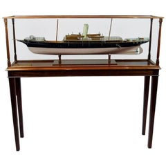 Fine Shipbuilder's Model of the Second Marquess Conyngham's Royal Yacht Squadron