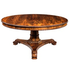 Centre Table Attributed to Gillows