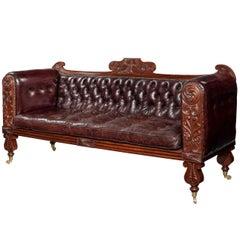Regency Mahogany Sofa