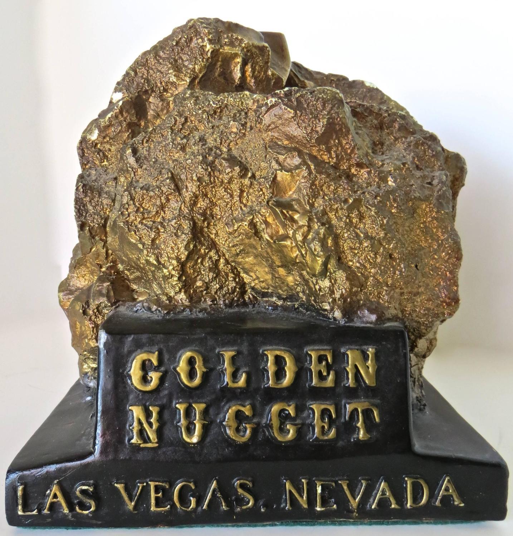 """""""Golden Nugget, Las Vegas, Nevada"""" Still Bank, Circa 1950"""