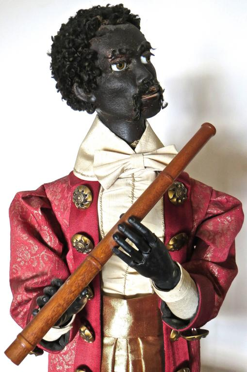"One of the more rare Automaton pieces, ""Ethiopian Flutist"" was manufactured circa 1870 and was a signature piece aimed at the wealthy international clientele attending the 1878 Paris World Exhibition. It was a luxurious and complicated piece"