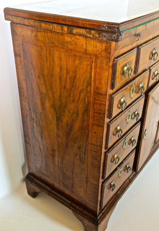 George I Walnut Bachelors Chest, circa 1720 For Sale 2