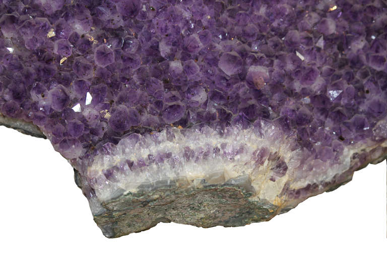 Gleaming Massive 63 Lbs. Amethyst Open Specimen Minas Gerais, Brazil For Sale 1