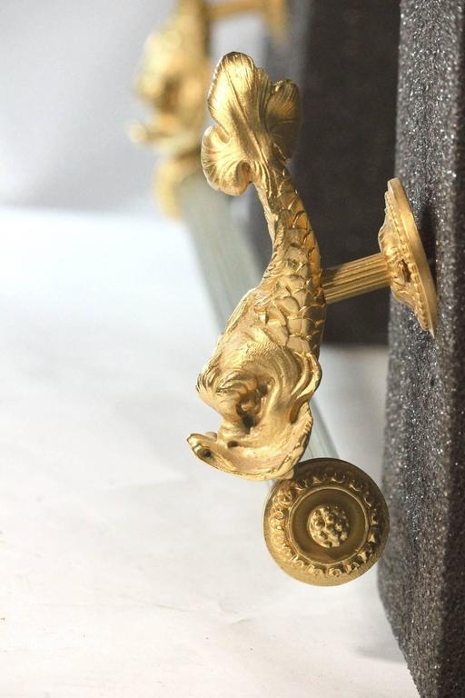 22k Gold Sherle Wagner Shower Head  22-Karat Gold Plate For Sale