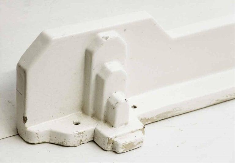 1970s French Ceramic Art Deco Style Bathroom Wall Shelf At
