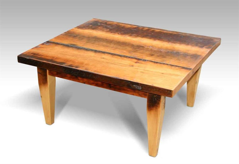Customizable Rustic Farm Style Coffee Table For Sale at