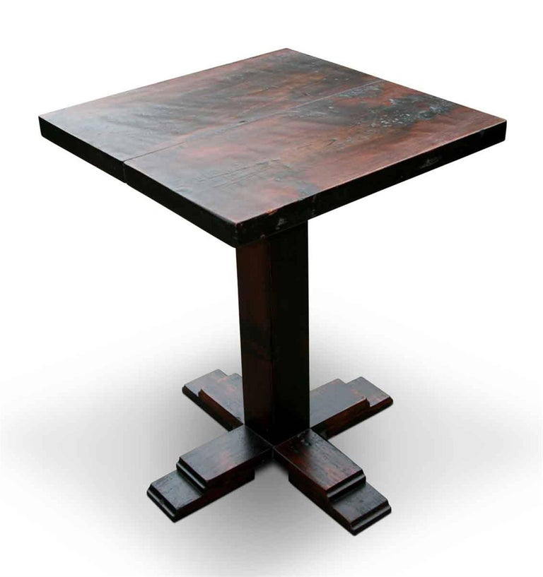 Customizable Handcrafted Wooden Bistro Table For Sale At