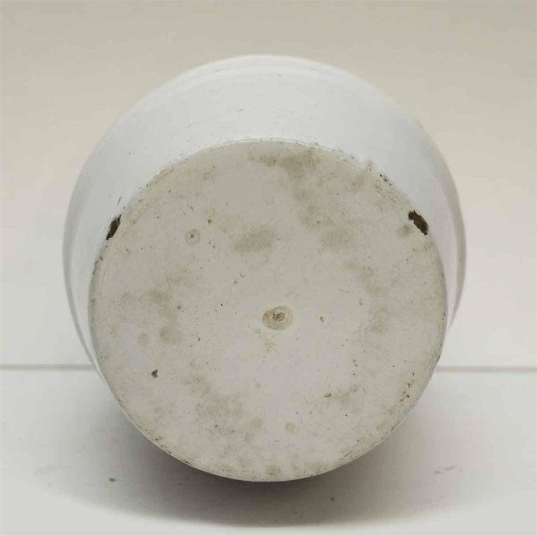 1950s White Chircoree French Kitchen Pot For Sale 1