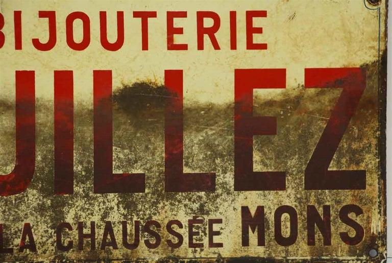 1960s French Signage