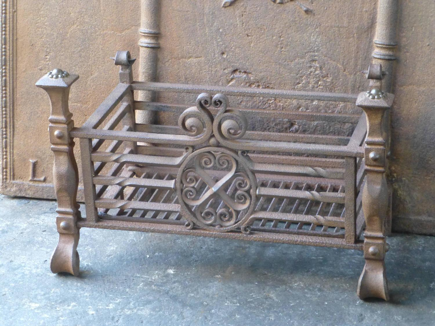 19th century dutch fireplace grate fire grate at 1stdibs