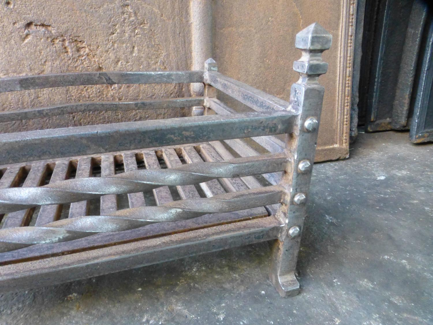 vintage english fireplace grate fire grate at 1stdibs