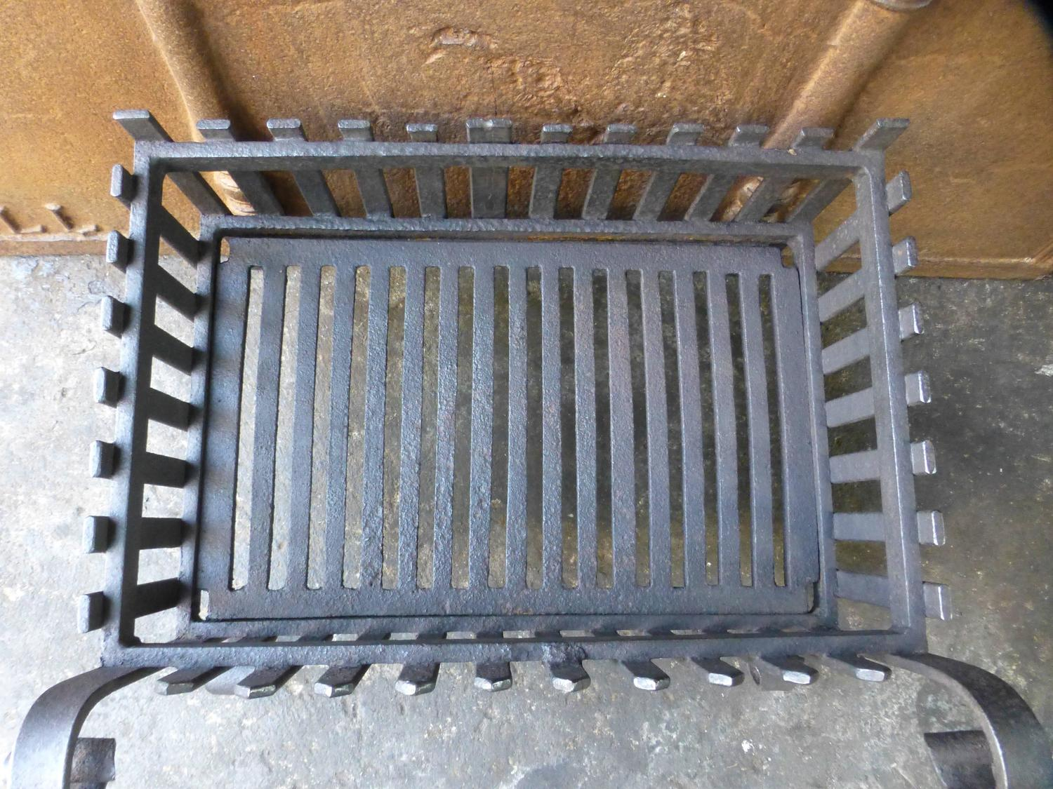 vintage fireplace grate grate at 1stdibs