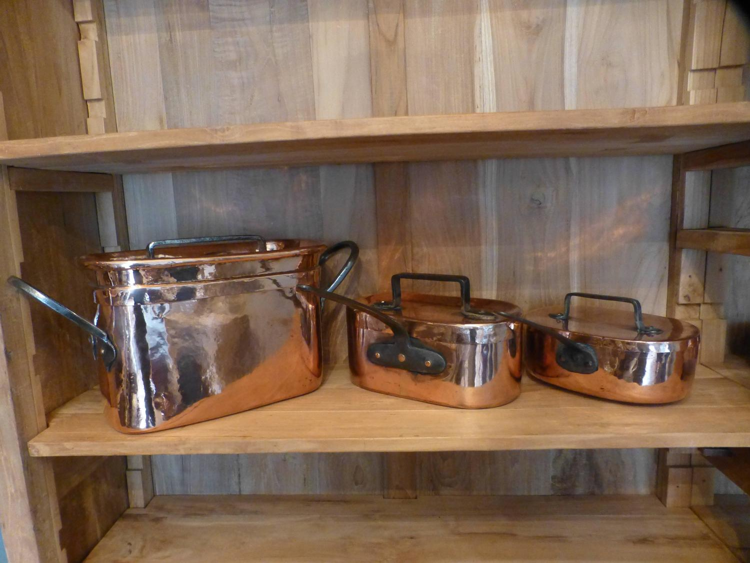 french re tinned copper stewing pots 39 daubi res 39 for sale at 1stdibs. Black Bedroom Furniture Sets. Home Design Ideas