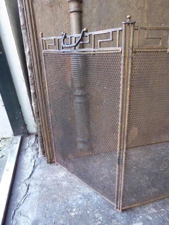 French Art Deco Fireplace Screen For Sale At 1stdibs