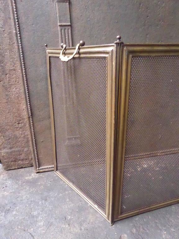 19th century french fireplace screen fire screen at 1stdibs. Black Bedroom Furniture Sets. Home Design Ideas