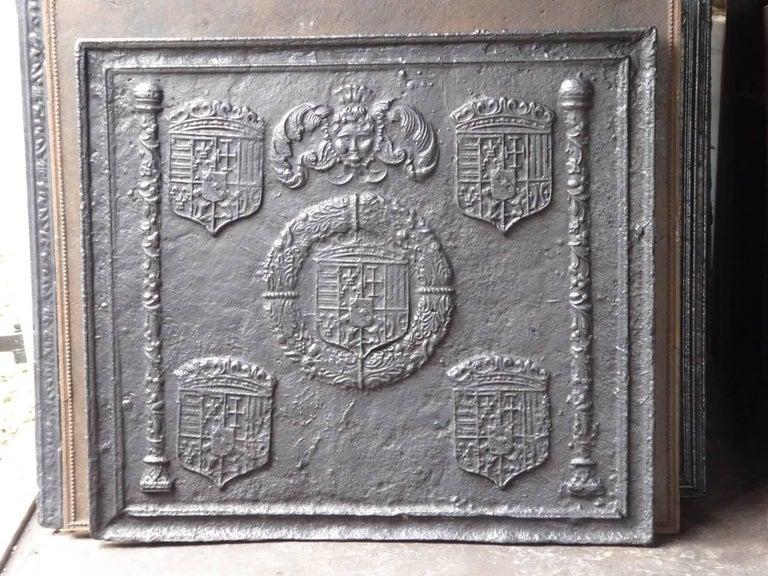 16th-17th Century 'Arms of Lorraine' Fireback 2