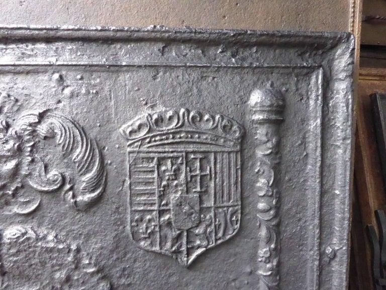 16th-17th Century 'Arms of Lorraine' Fireback 7