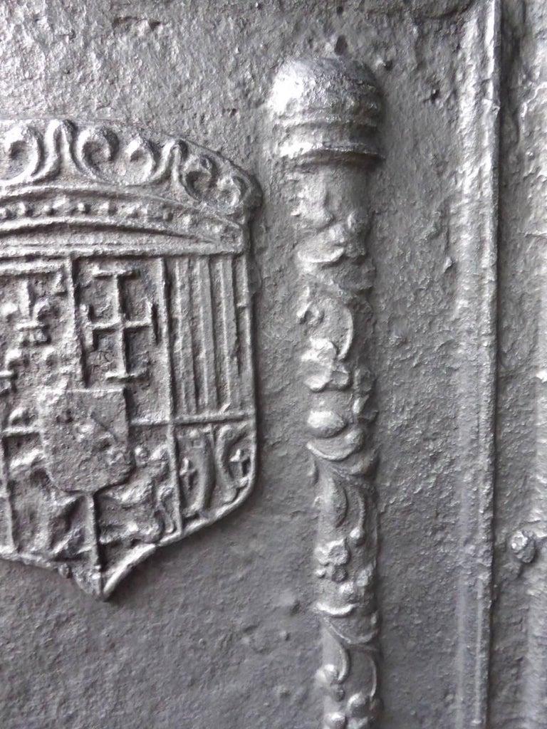 16th-17th Century 'Arms of Lorraine' Fireback 8