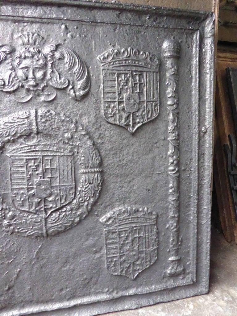 16th-17th Century 'Arms of Lorraine' Fireback 4