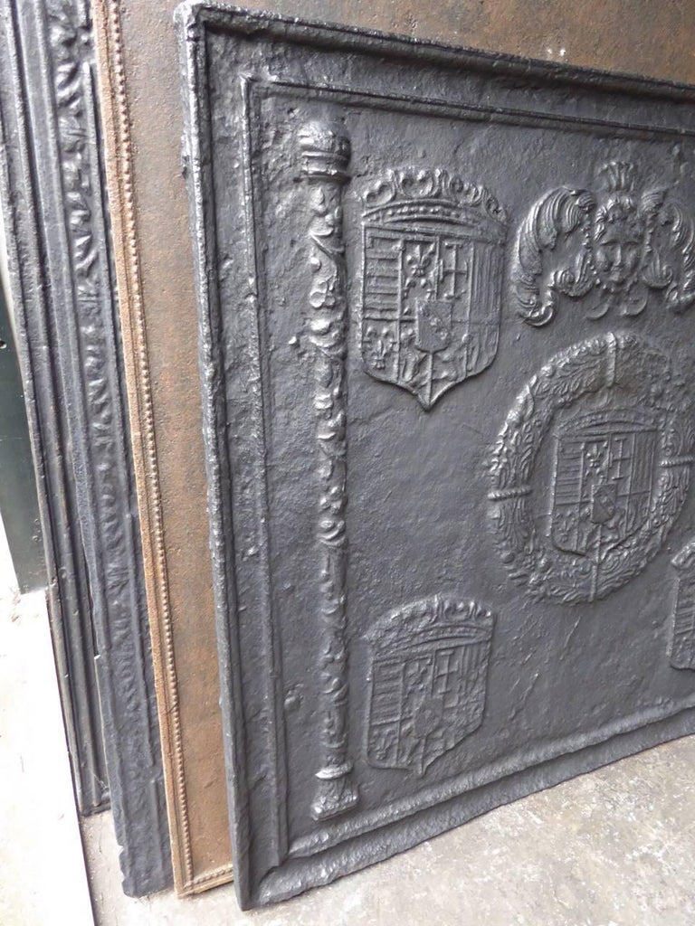 16th-17th Century 'Arms of Lorraine' Fireback 3