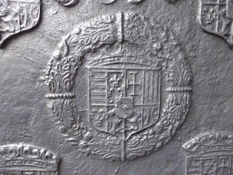 16th-17th Century 'Arms of Lorraine' Fireback 5