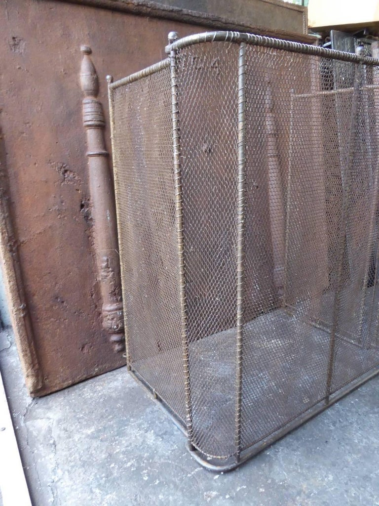 19th century french fireplace screen for sale at 1stdibs. Black Bedroom Furniture Sets. Home Design Ideas