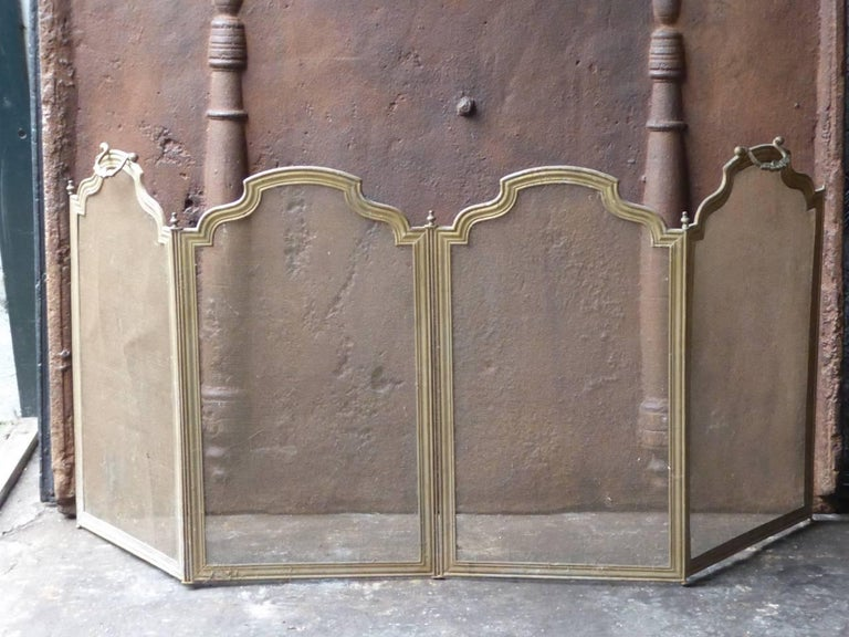 french fireplace screen or fire screen at 1stdibs. Black Bedroom Furniture Sets. Home Design Ideas