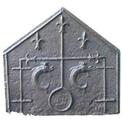Gothic Fireback, 15th-16th Century