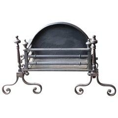 Exquisite Georgian Fireplace Grate, Fire Grate