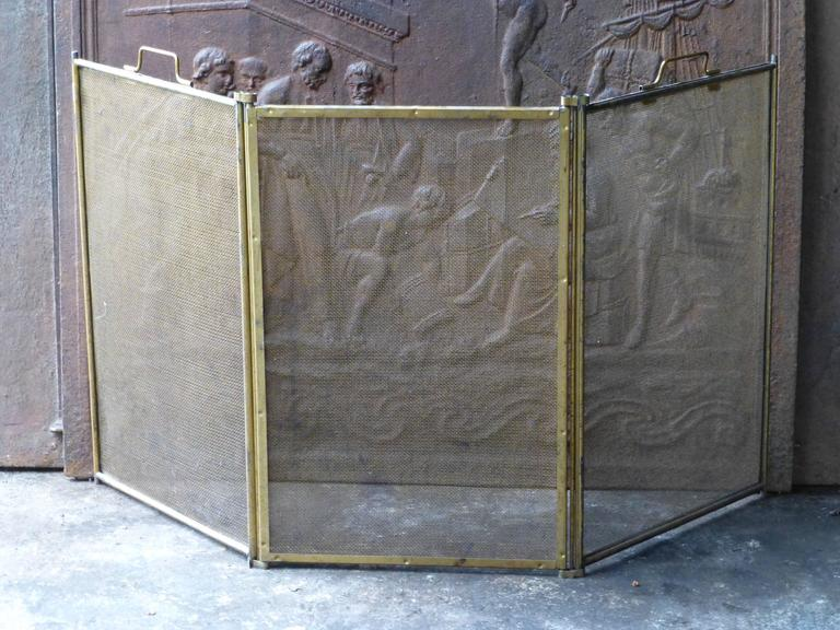 french fireplace screen at 1stdibs. Black Bedroom Furniture Sets. Home Design Ideas