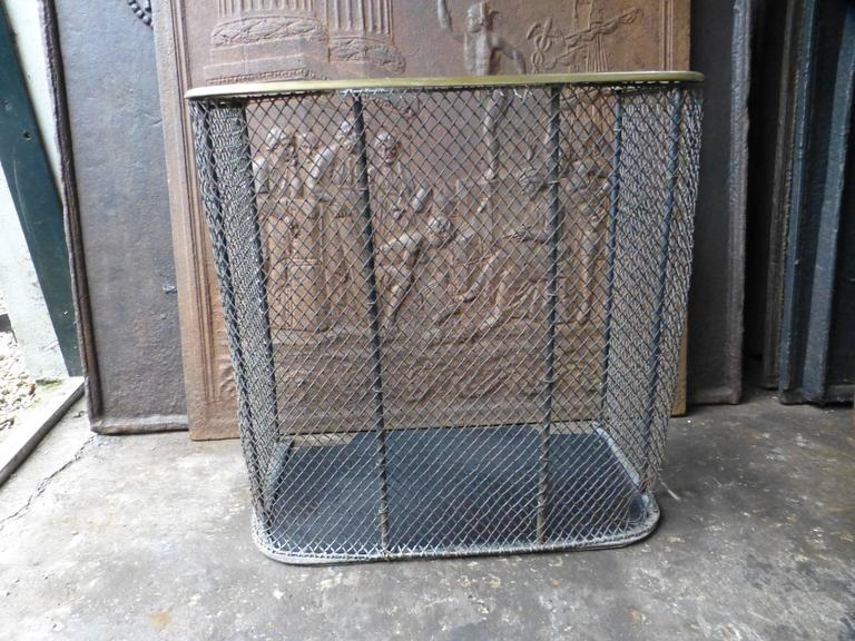 19th Century English Fire Guard, Fireplace Guard For Sale 1
