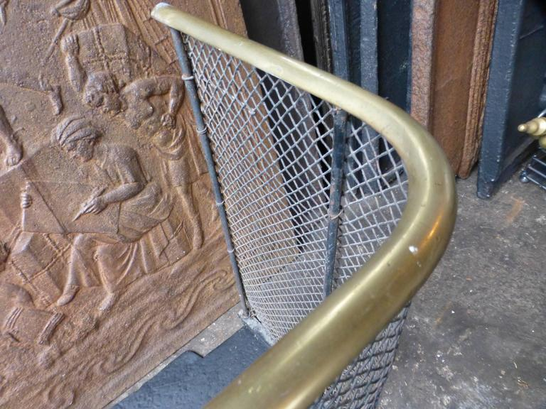 19th Century English Fire Guard, Fireplace Guard For Sale 4