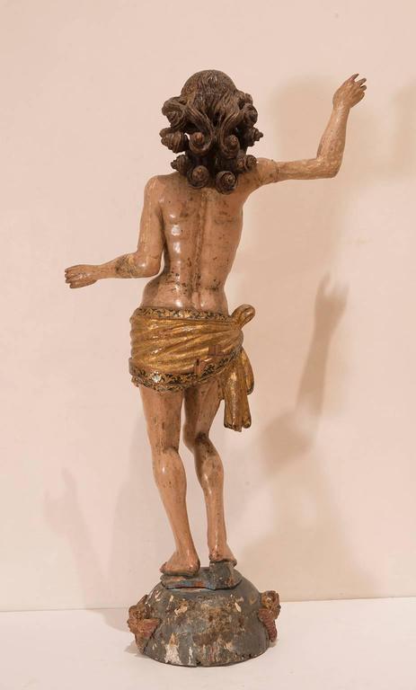 Rococo Christ Triumphant Sculpture For Sale