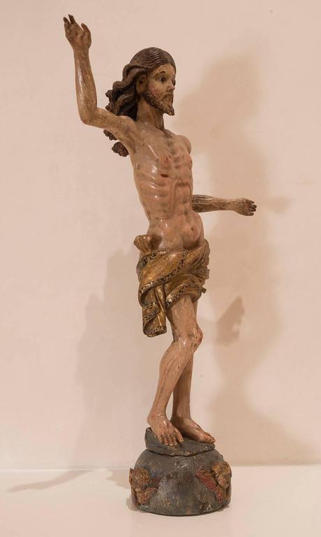 German Christ Triumphant Sculpture For Sale