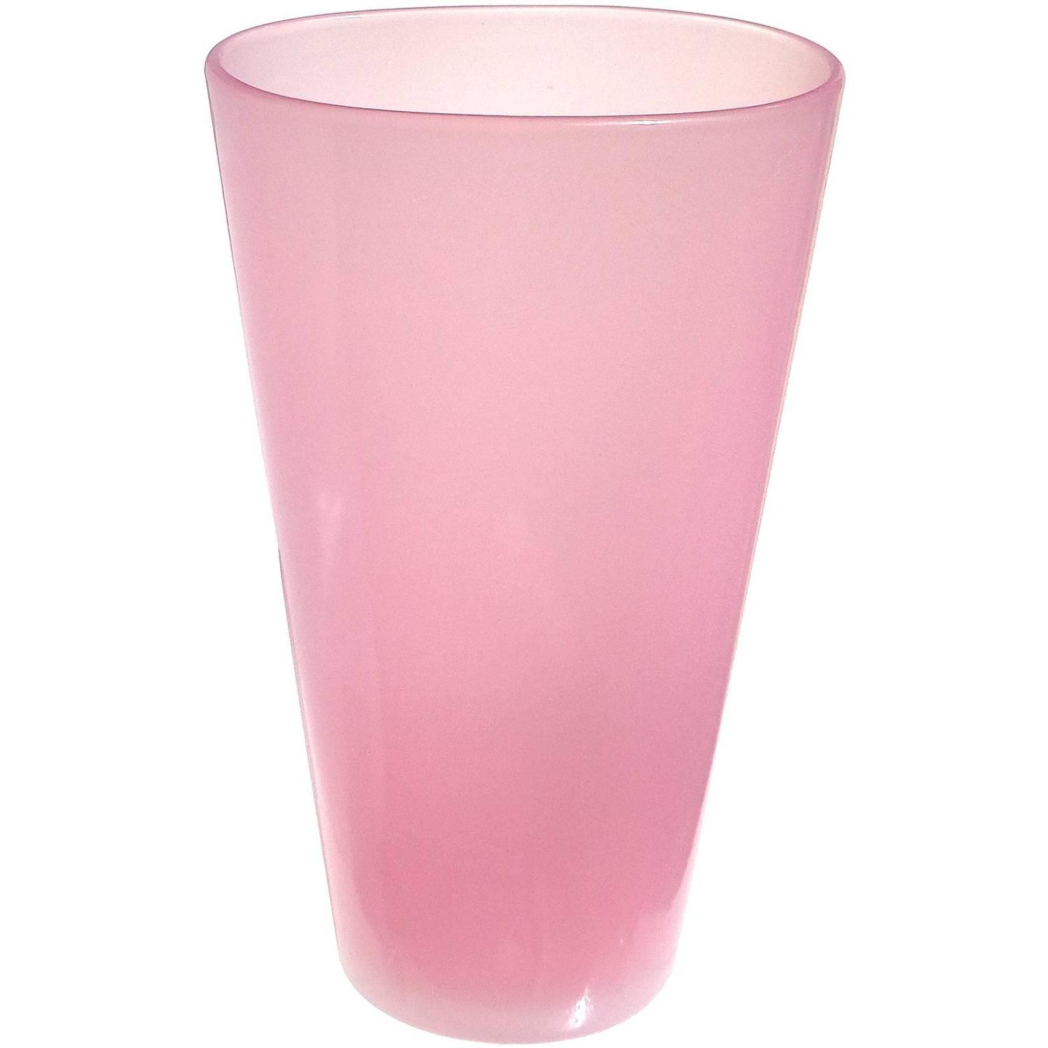 Pink Glass Vases 285 For Sale On 1stdibs