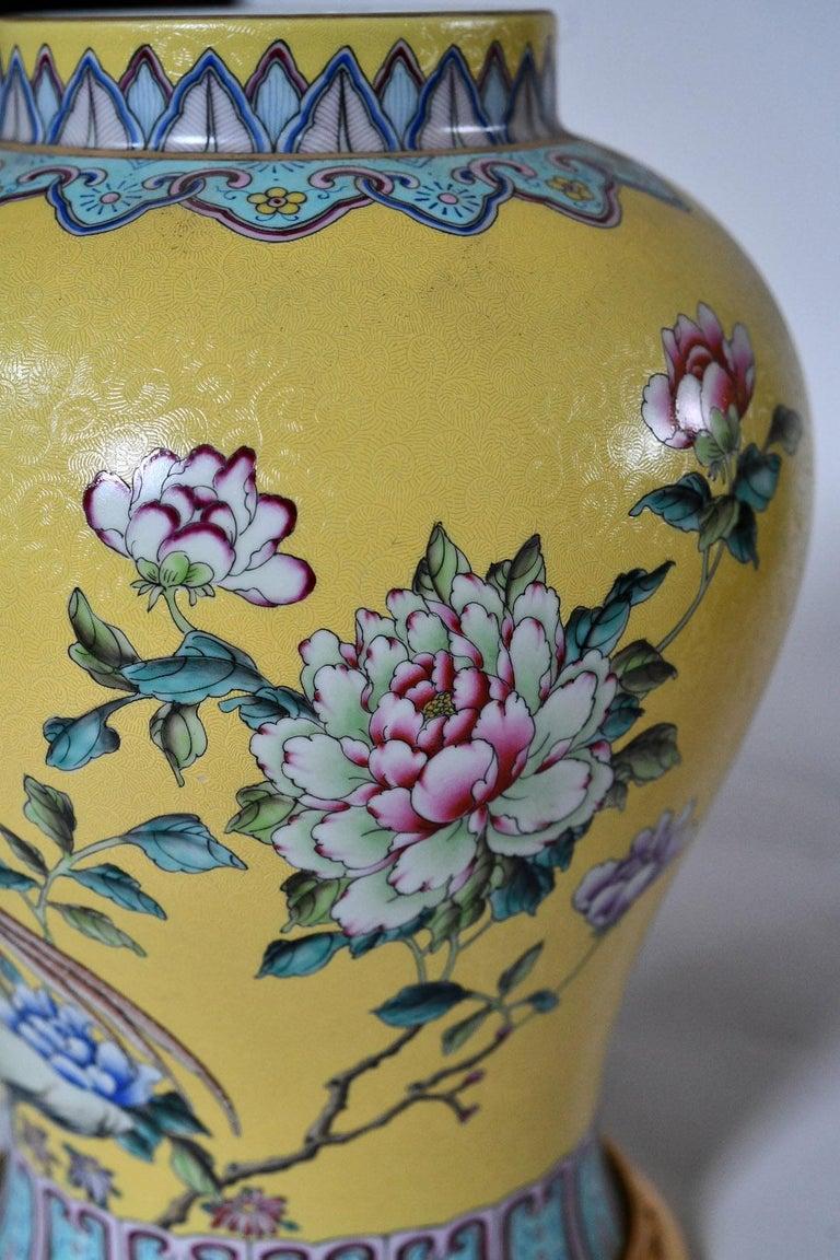 20th Century Familie Verta Porcelain Lamps For Sale