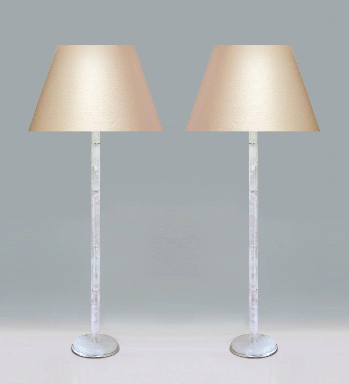 Modern rock crystal quartz floor lamp for sale at 1stdibs for Modern floor lamp on sale